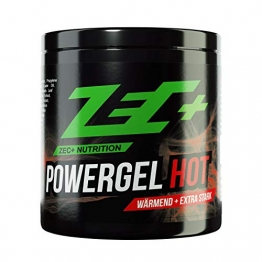 ZEC+ Powergel Hot – 500 ml wärmendes Sportgel, Recovery-Gel für Bodybuilding, Kraftsport und nach intensiven Workouts, mit Kampfer und natürlichen Extrakten, Made in Germany - 1